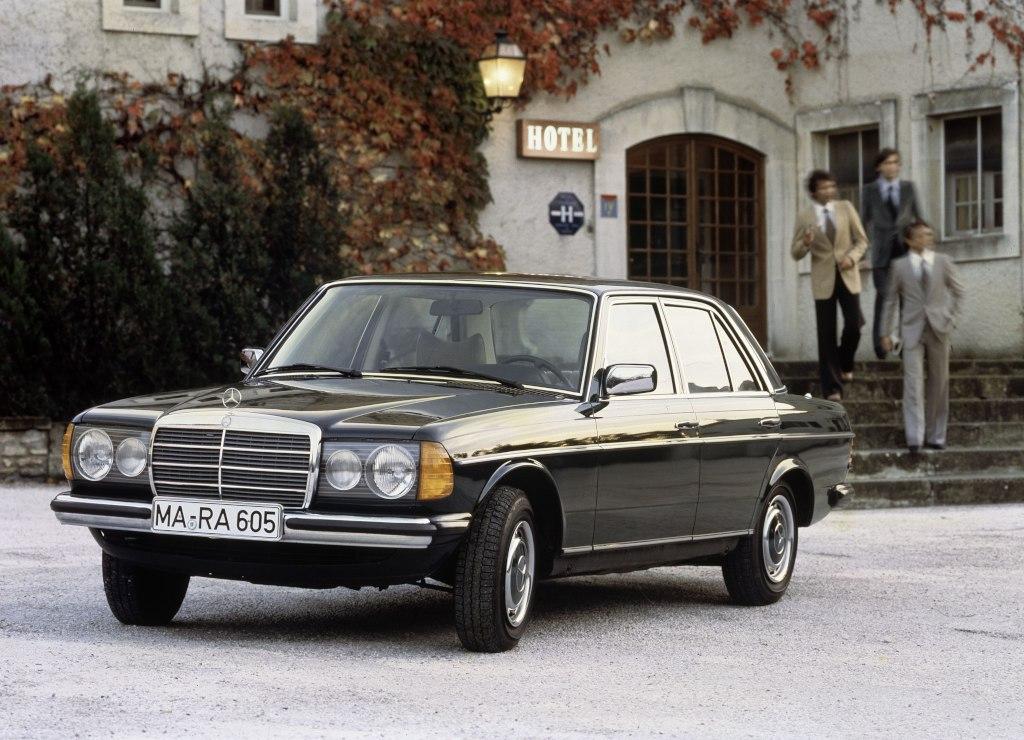 1976 Mercedes W 123