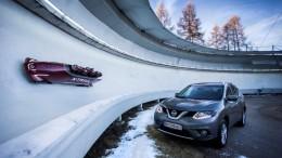 Nissan X-trail bobsled