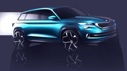 Skoda VisionS SUV concept