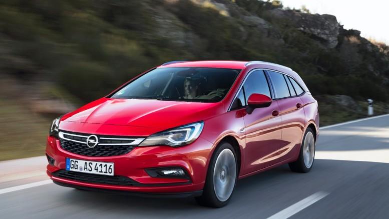 2017 Opel Astra Sports Tourer