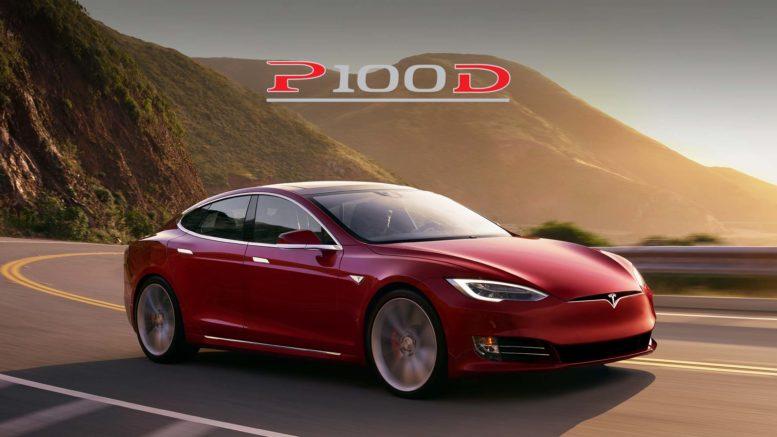 Tesla 0-100 km/h