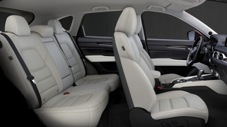 2017 Mazda CX-5 cabin interior