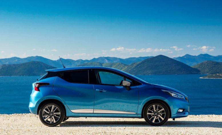 2017 Nissan Micra length