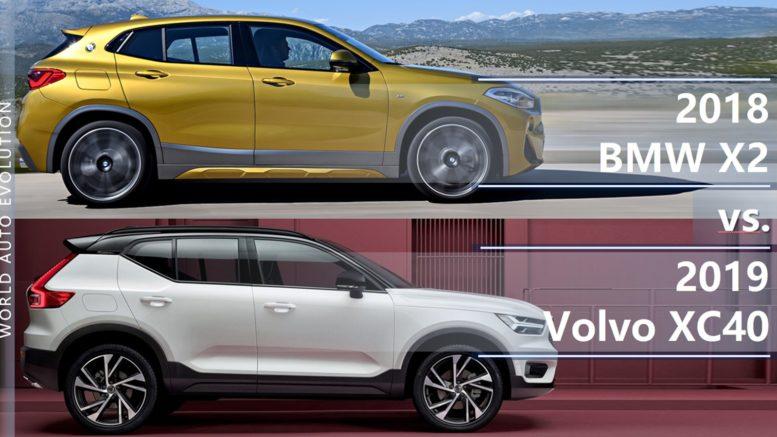 Bmw X2 Vs Volvo Xc40 Brand New Small Premium Suvs Head To Head
