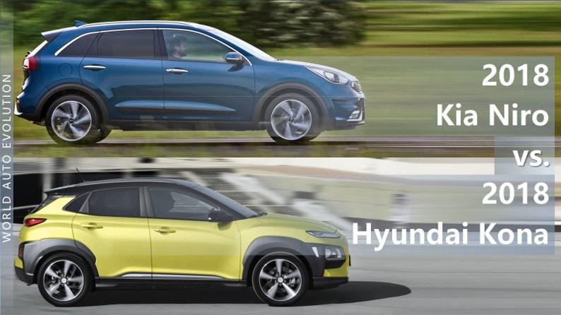 Kia Niro Vs Hyundai Kona The Difference